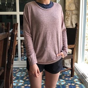 Heather Red Sweater